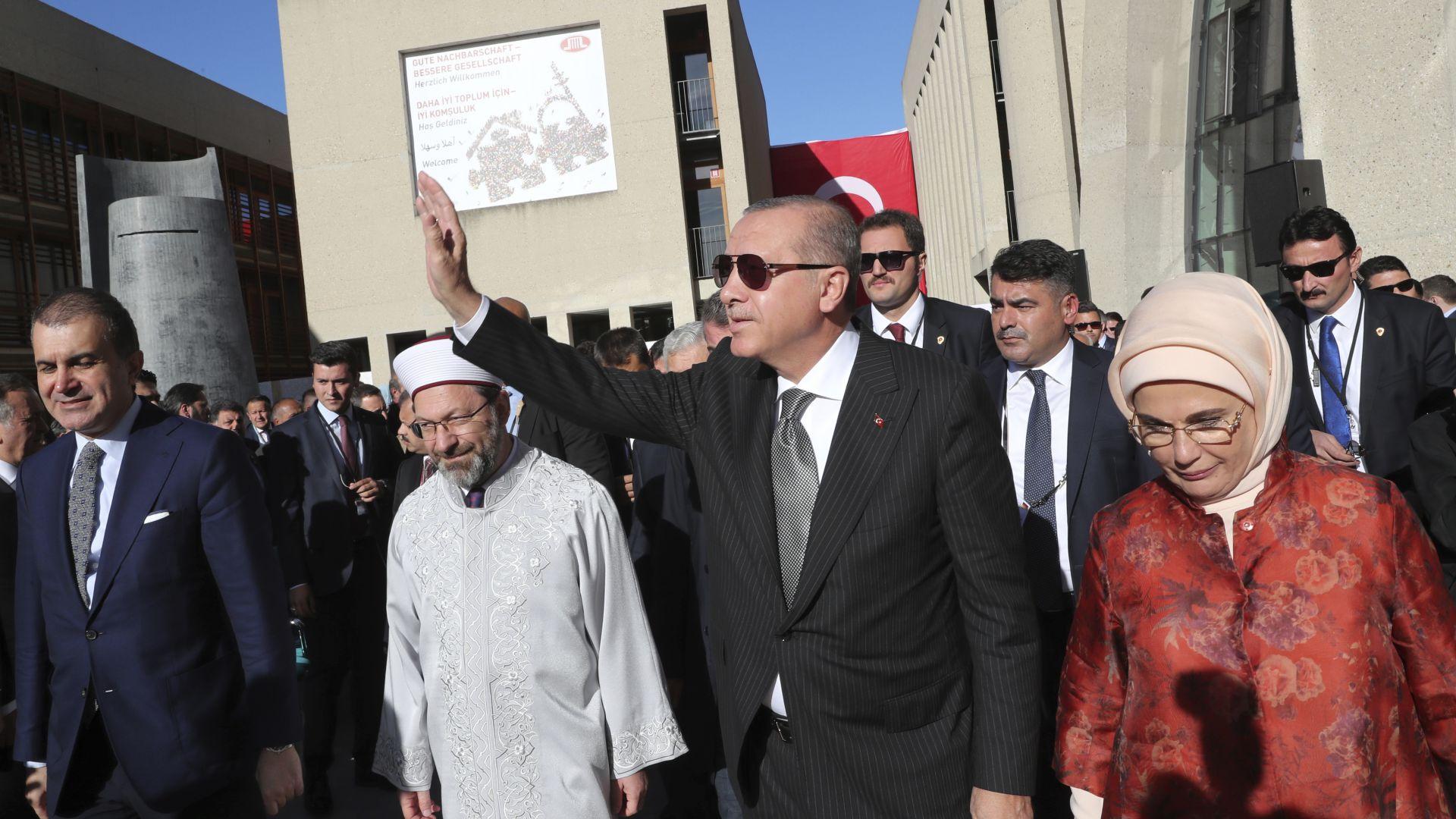 Немски полицаи дали кодово име на Ердоган на отявлен нацист