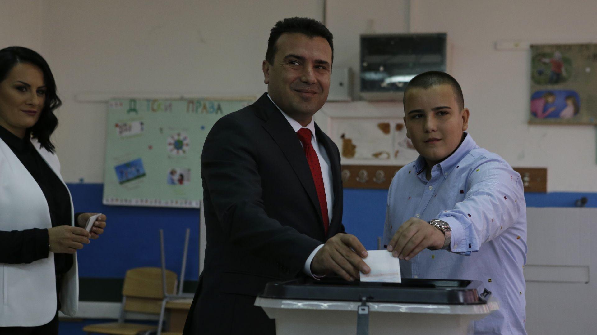 Ниска активност на референдума в Македония, но Заев оптимист