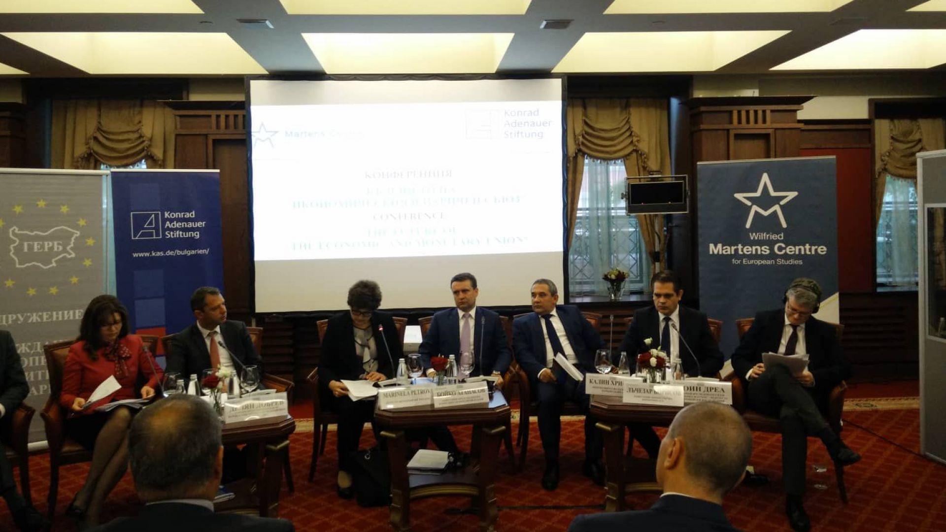 Лъчезар Борисов: Членството в еврозоната ще доведе до повишаване на кредитния рейтинг