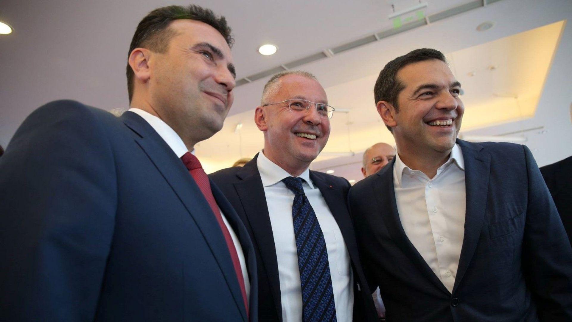 Станишев: Поздравявам премиера Зоран Заев за национално-отговорното поведение