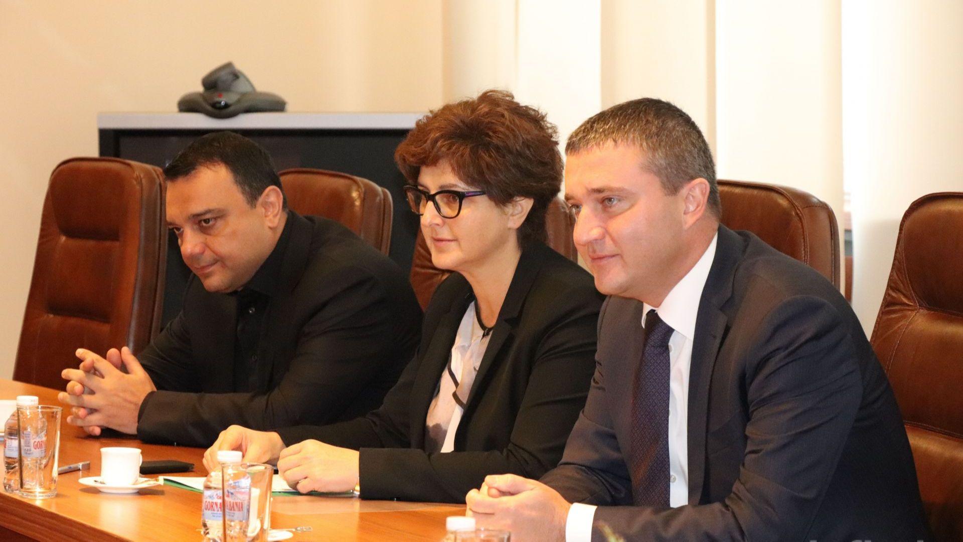 Горанов представи Московски на шефа на Черноморската банка за търговия и развитие