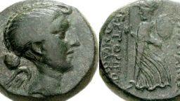 Първите римски монети с женски образ са на жестоката Фулвия