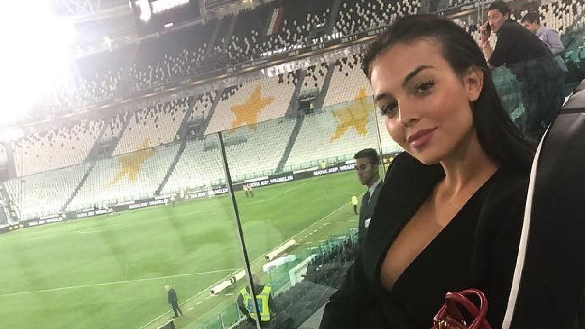 Джорджина подкрепи Роналдо след новините около секс скандала