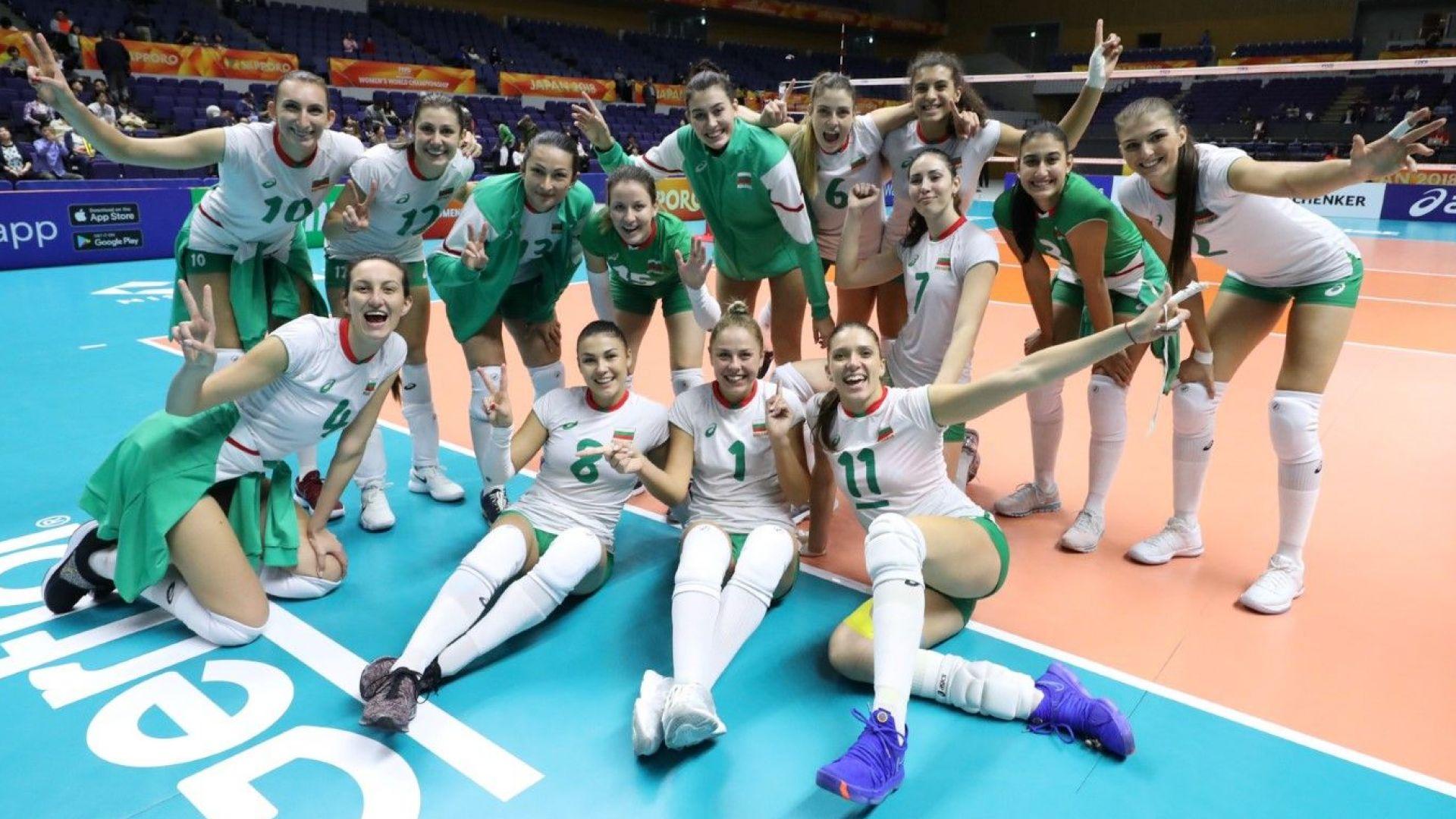 Волейболистките минаха по ръба, но с характер продължават на Световното