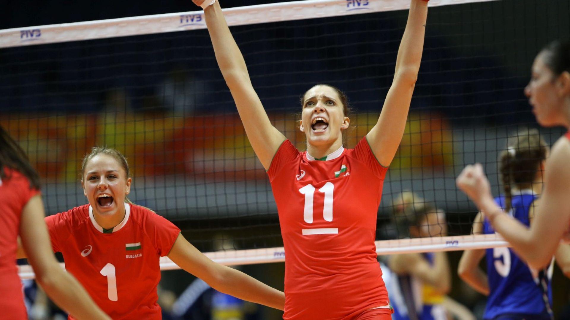 Момичетата ни с перфектен старт на олимпийската квалификация