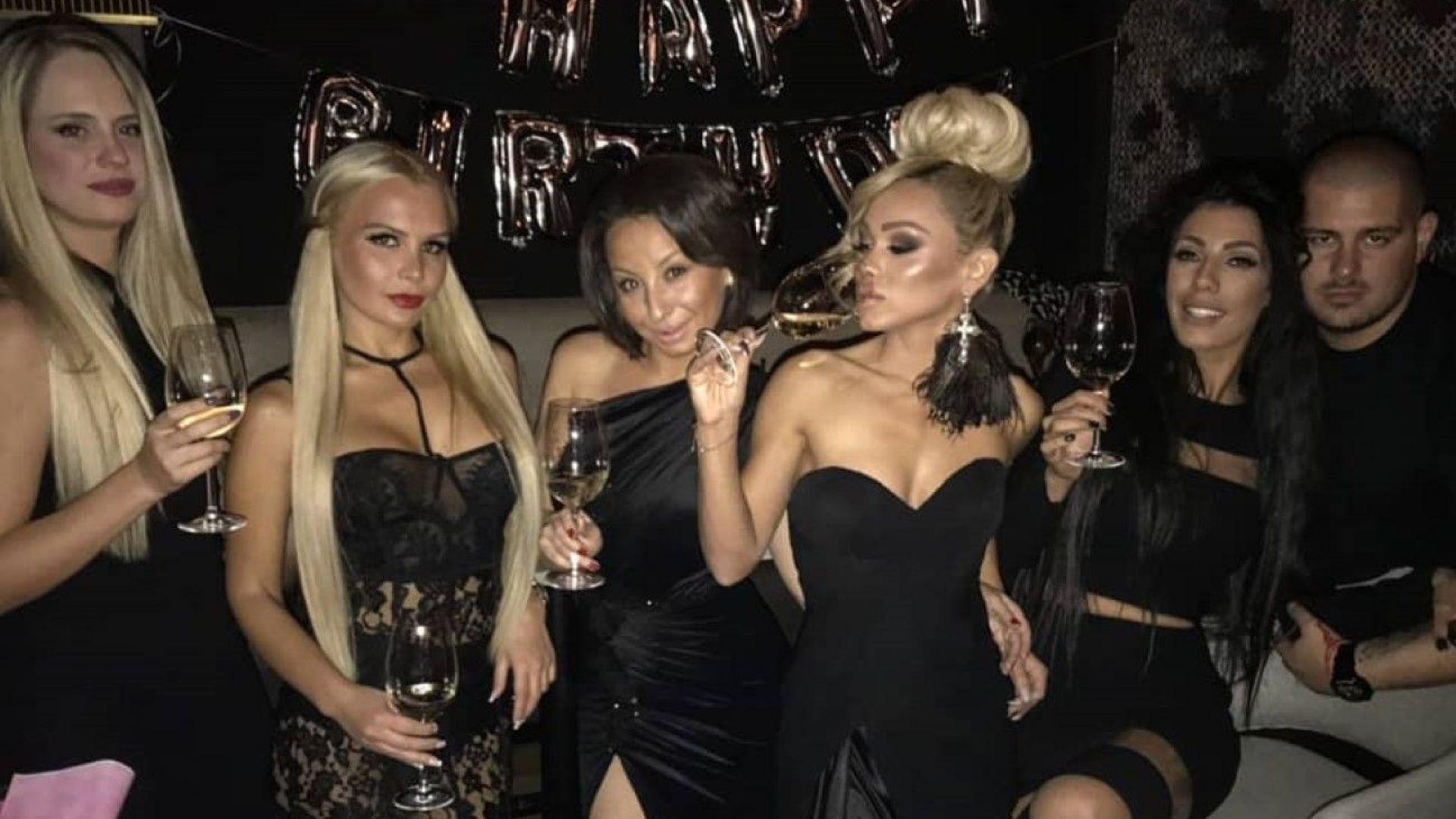 Нора Недкова отпразнува 25-ия си рожден ден с приятели (видео)