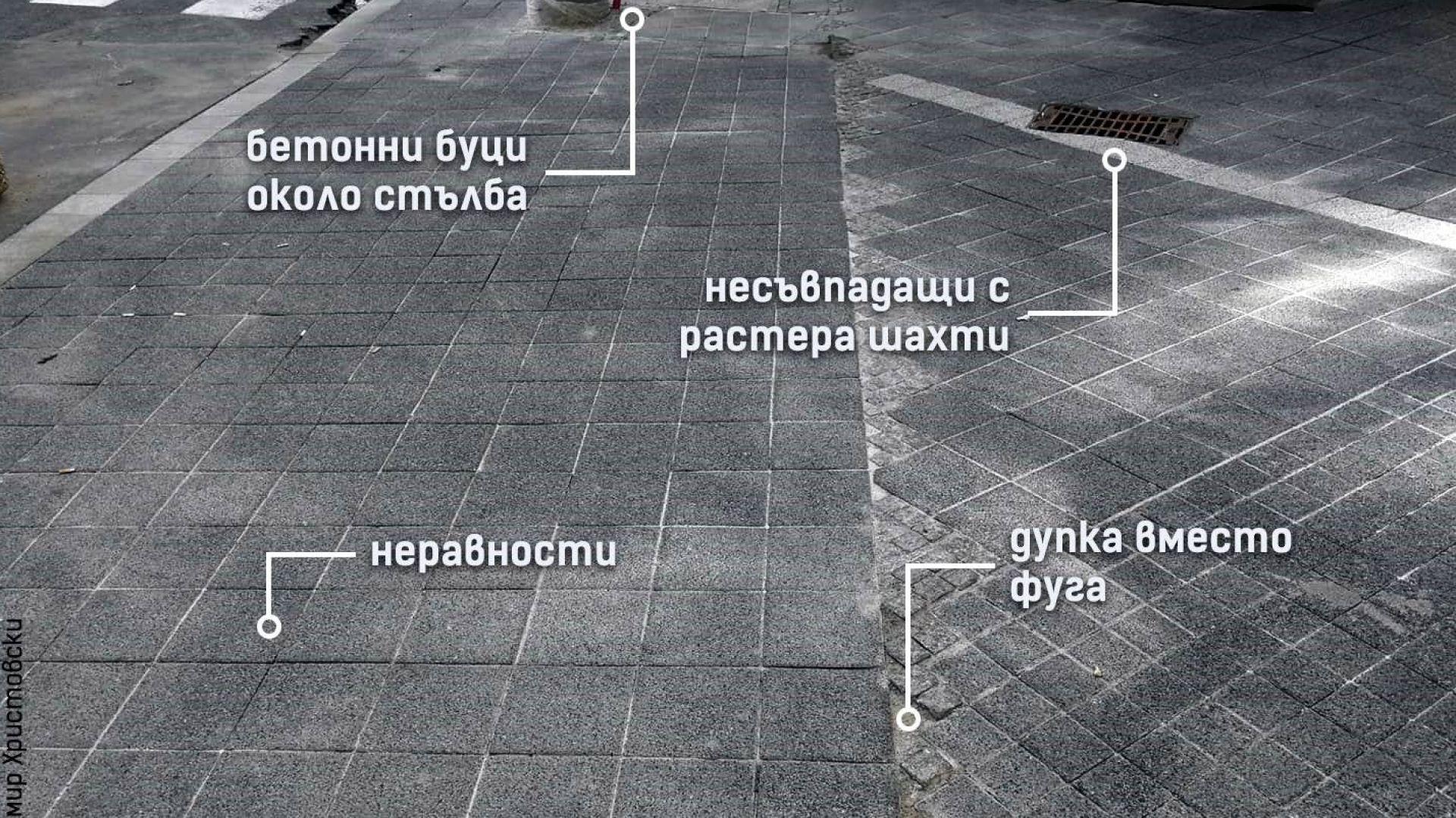 """Дефектите, отбелязани от """"Спаси София"""""""