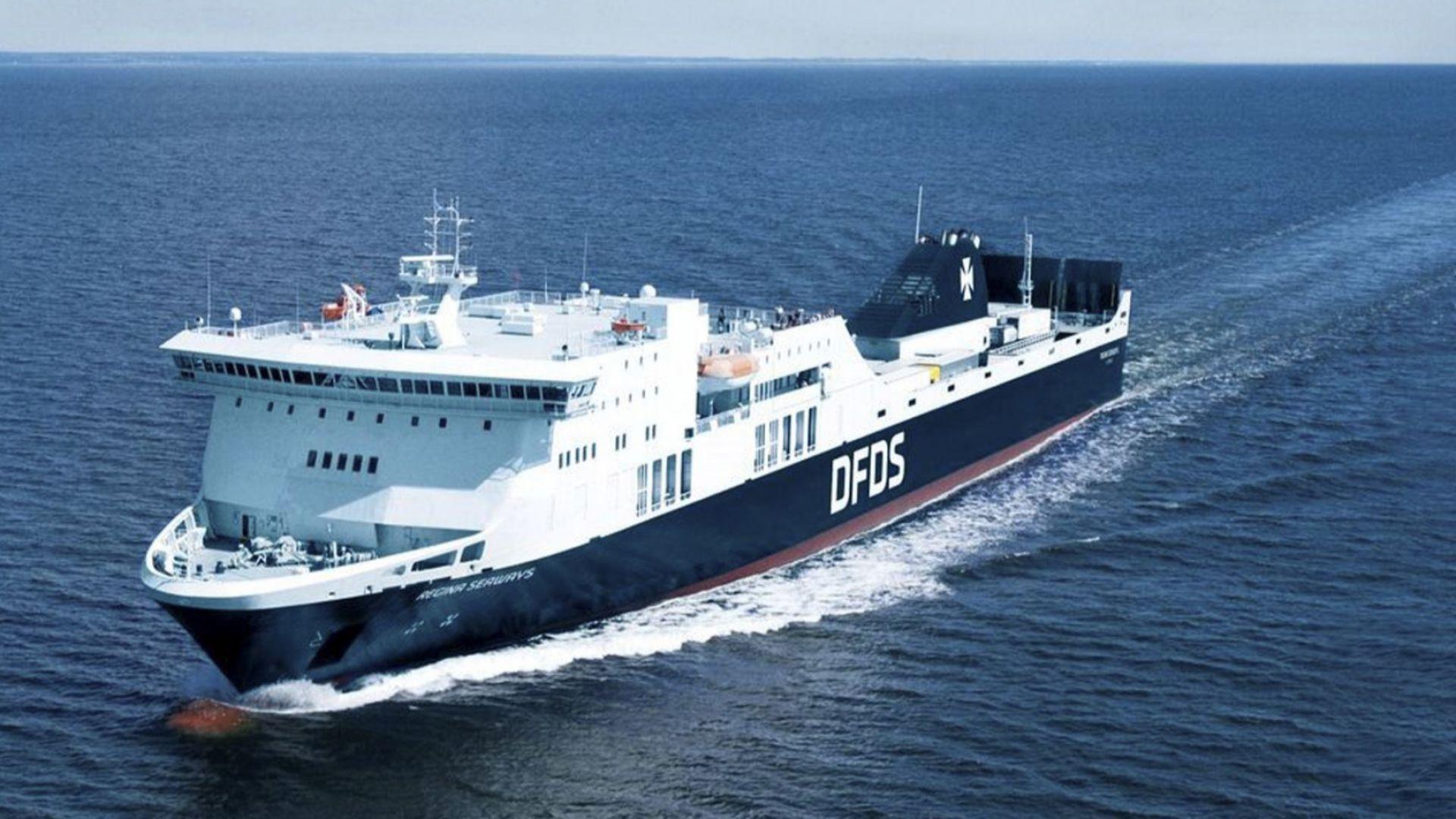 Авариралият ферибот в Балтийско море продължи по пътя си