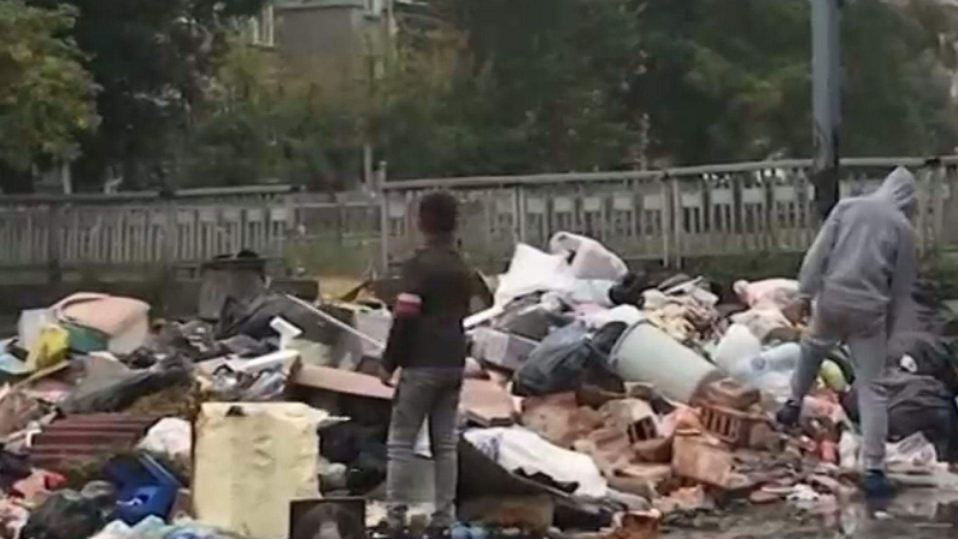 Незаконно сметище зарина полицейски участък в Пловдив