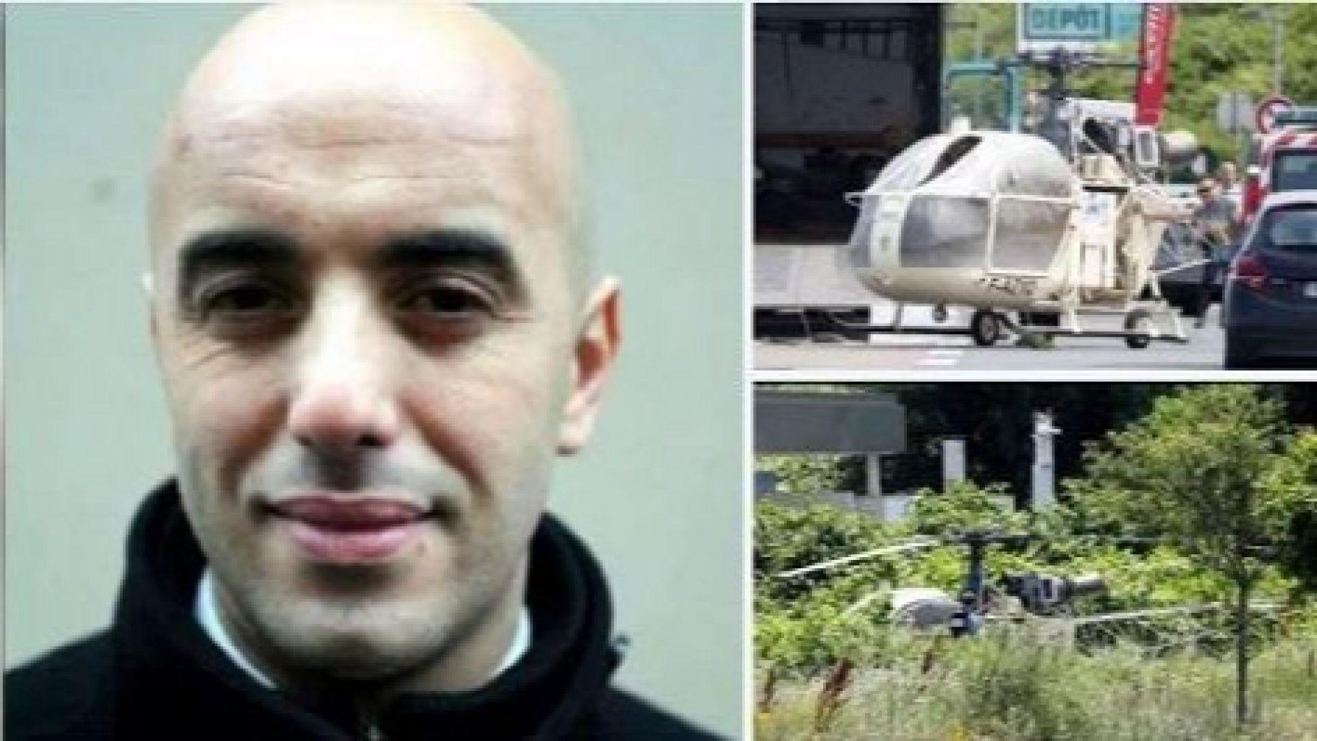 Спипаха френския престъпник Фаид, избягал от затвора с хеликоптер