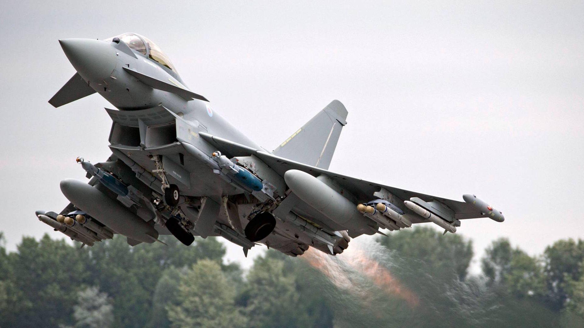 Два изтребителя Eurofighter на въоръжените сили на Германия се сблъскаха
