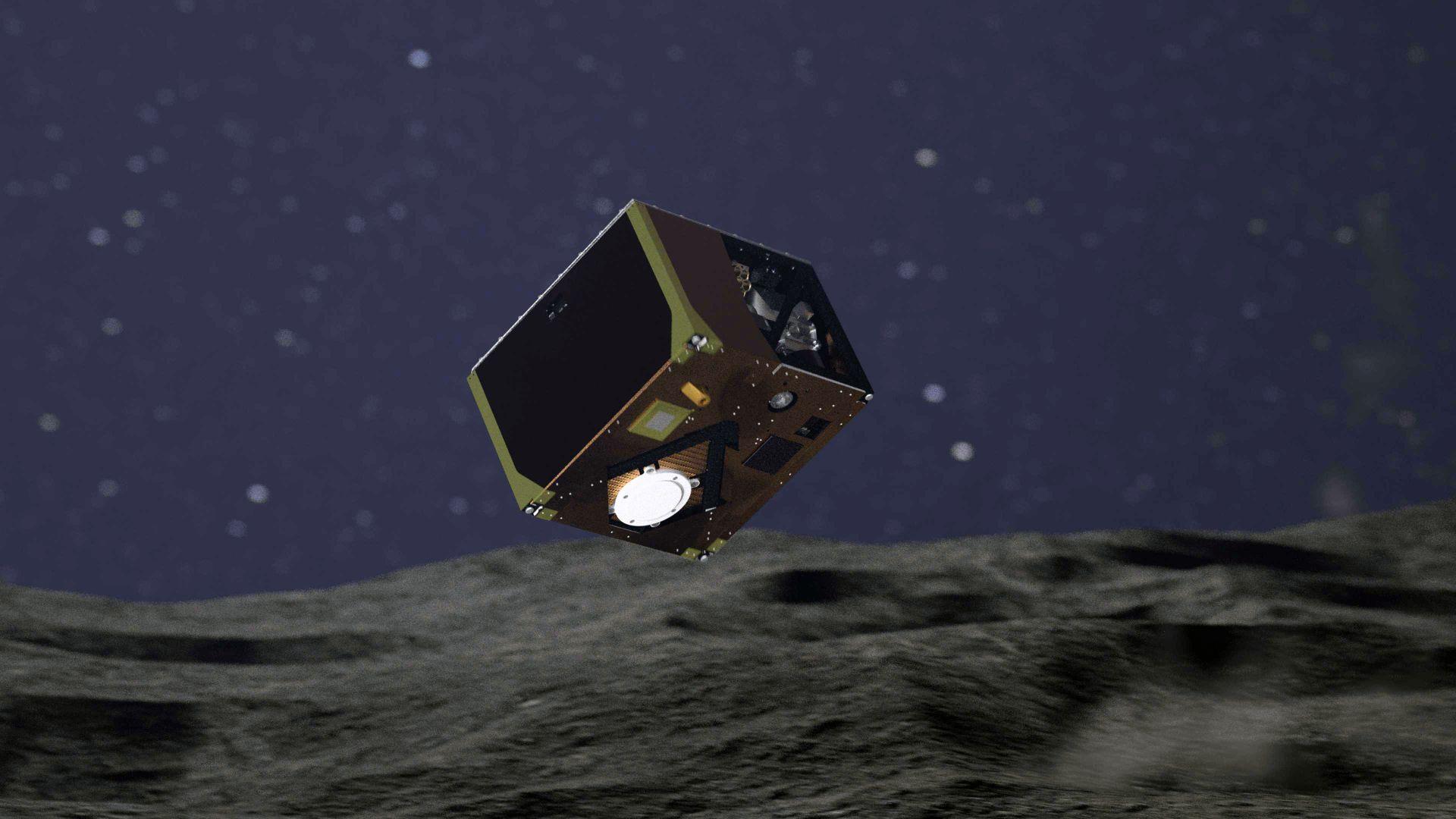 """""""Маскот"""" кацна на астероида Рюгу"""