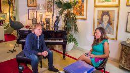 Екип на БНТ засне документален филм за Ричард Клайдерман