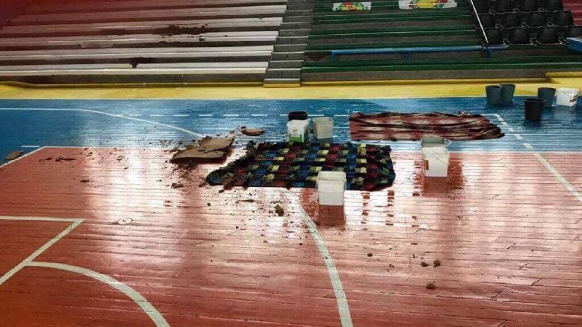 Деца на косъм от инцидент в рушащата се зала в Кърджали