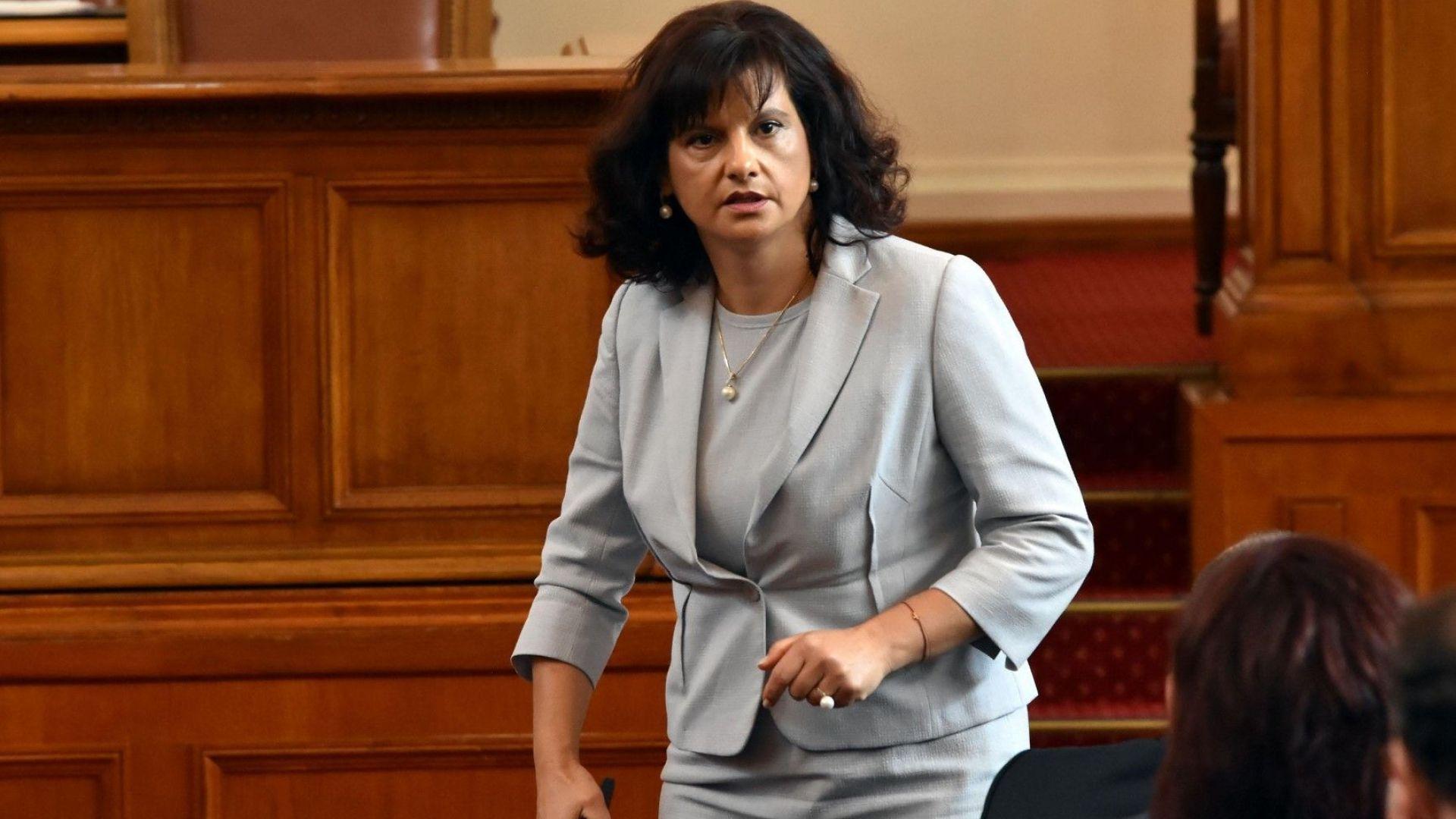 Даниела Дариткова: За първи път в парламентарната история имаме вот за намерения