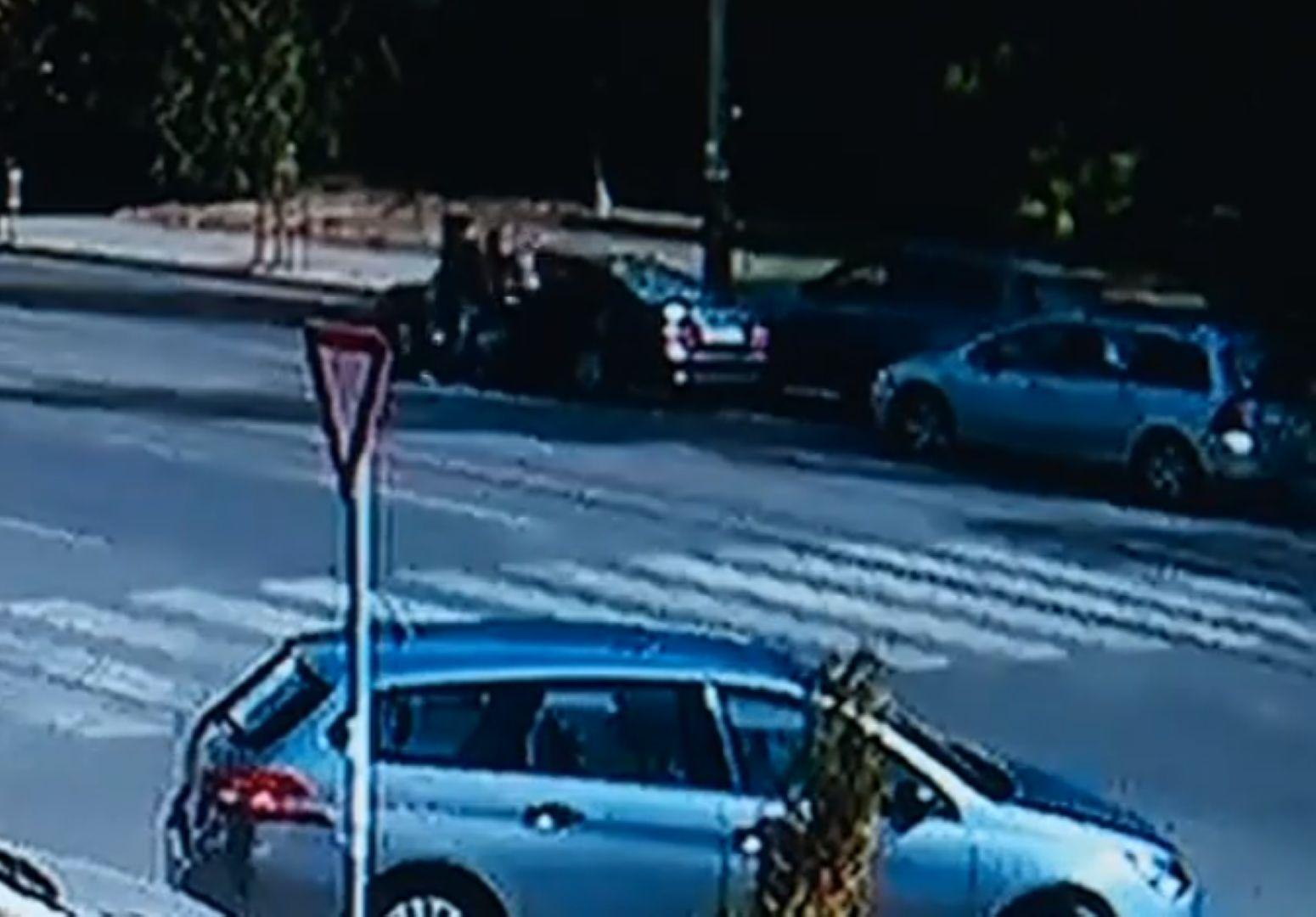 Видеокамера е запечатала инцидента