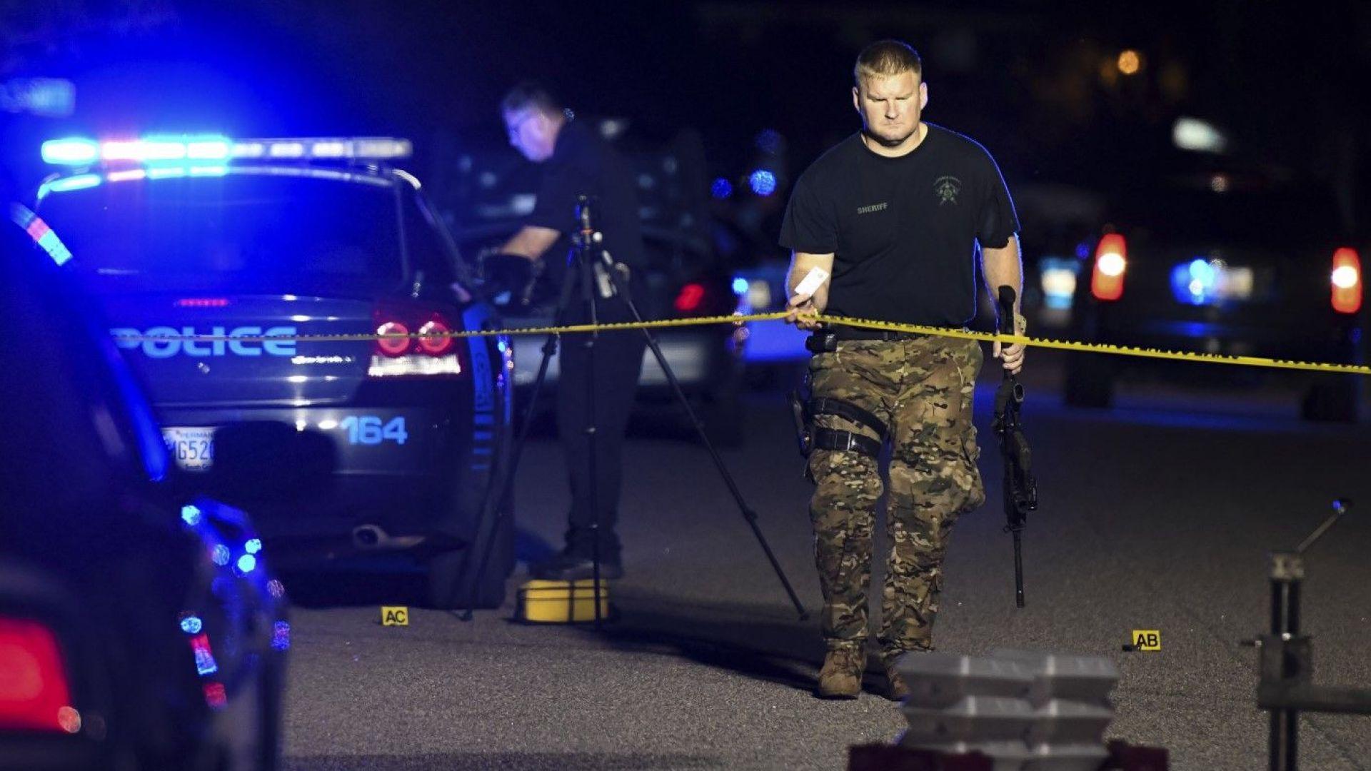 Седем американски полицаи простреляни: един е мъртъв