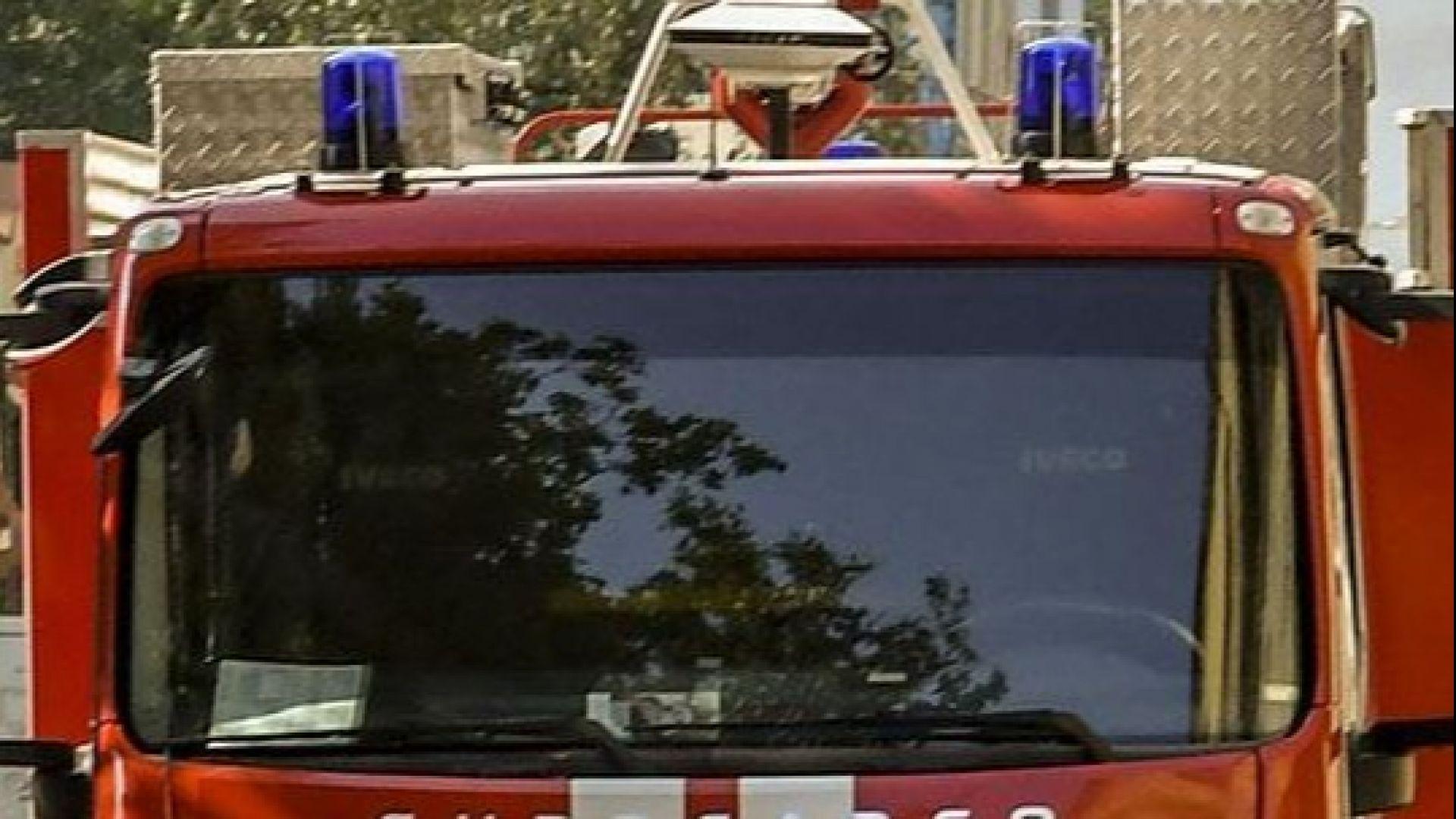 Среднощен пожар в най-голямата болница в Пловдив