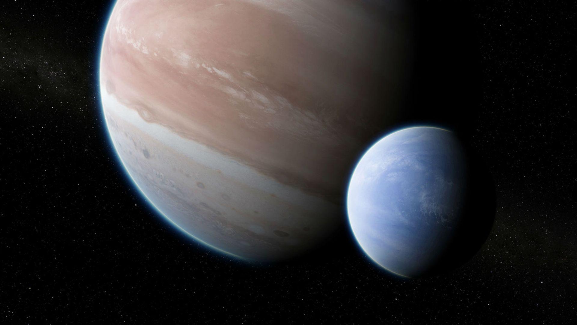 За пръв път откриха луна извън Слънчевата система