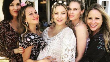 Кейт Хъдсън роди третото си дете