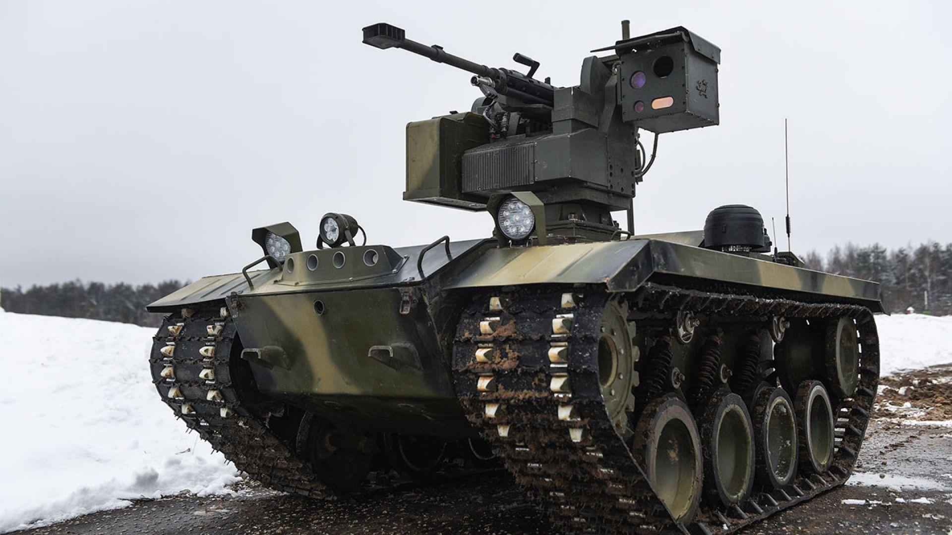 """""""Калашников"""" показа бъдещето на войната (видео)"""