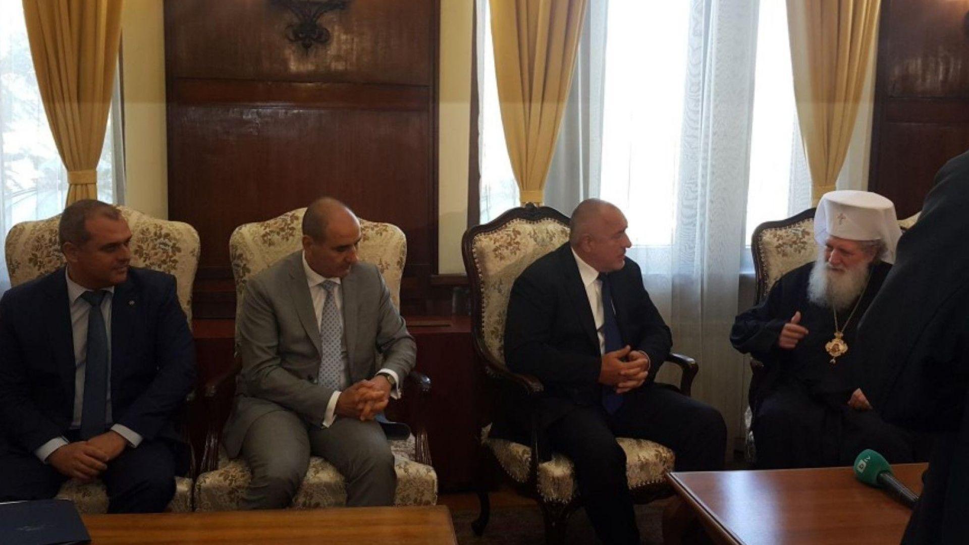 Борисов на спешна среща с патриарх Неофит и митрополити