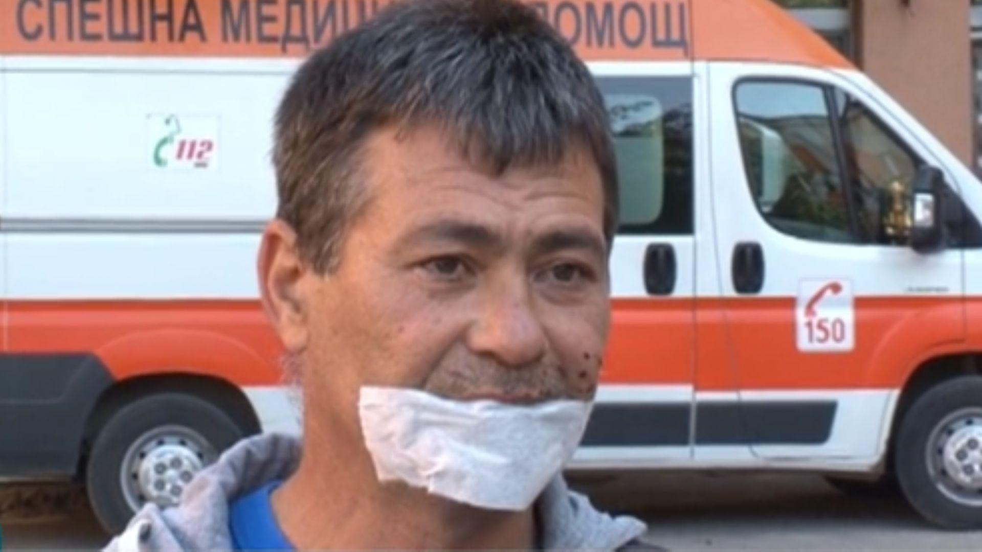 Проговори човекът, помогнал на убитата от полицейска кола жена