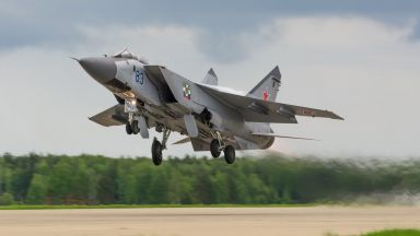 Руски МиГ-31 прехвана американски разузнавателен самолет над Тихия океан