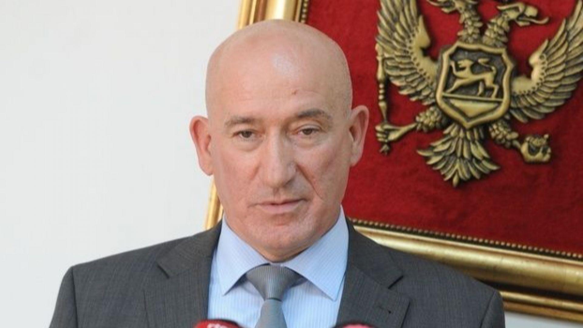 Главният прокурор на Черна гора се страхува, че Русия ще го отрови