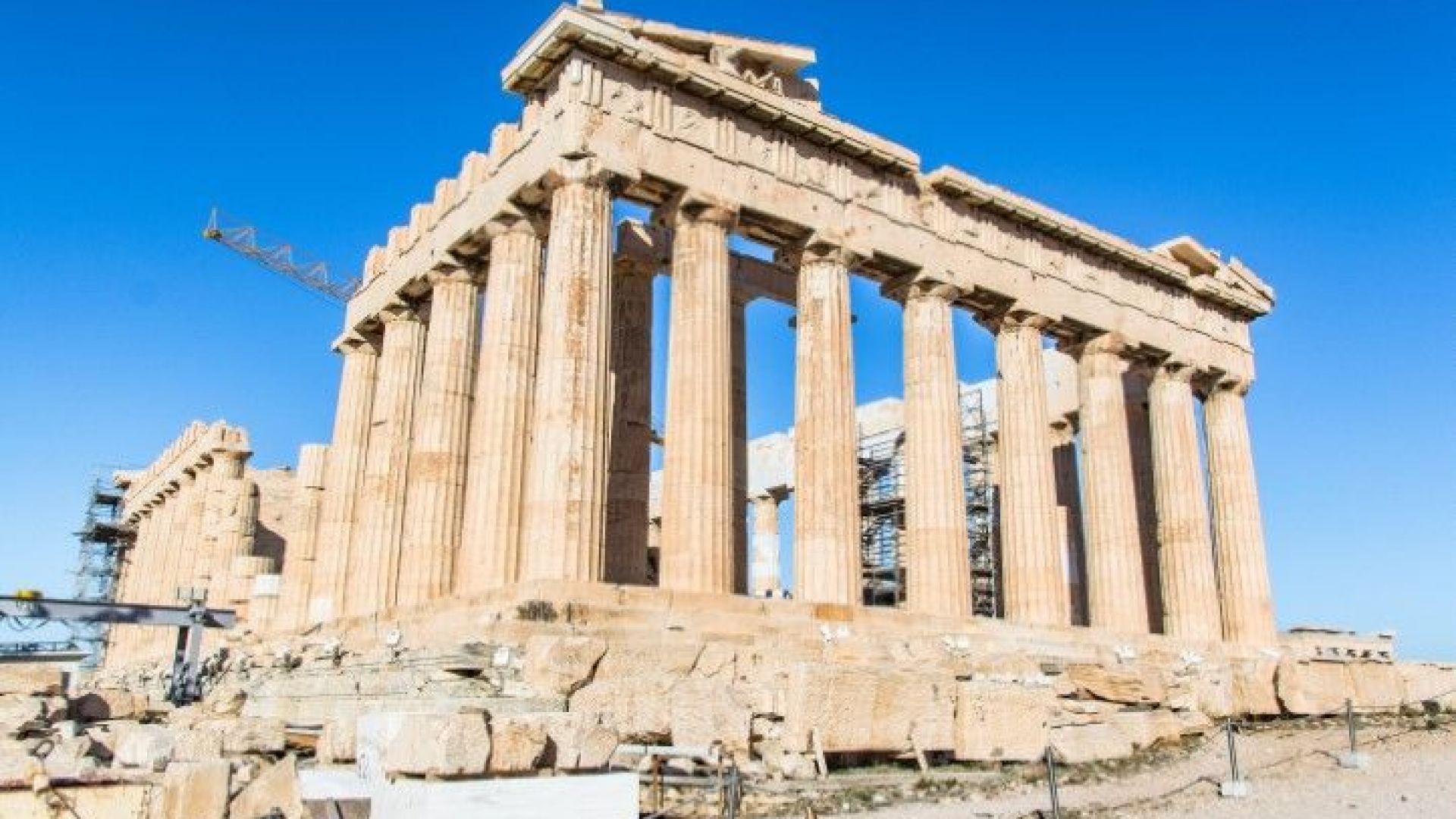 Затвориха Акропола заради жегите в Атина
