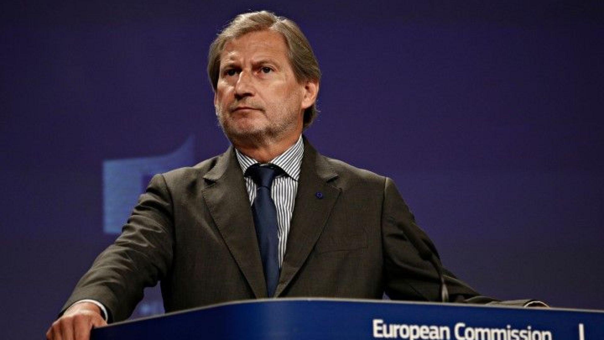 Еврокомисар: Мнозинство от 2/3 в парламента може да реши името на Македония