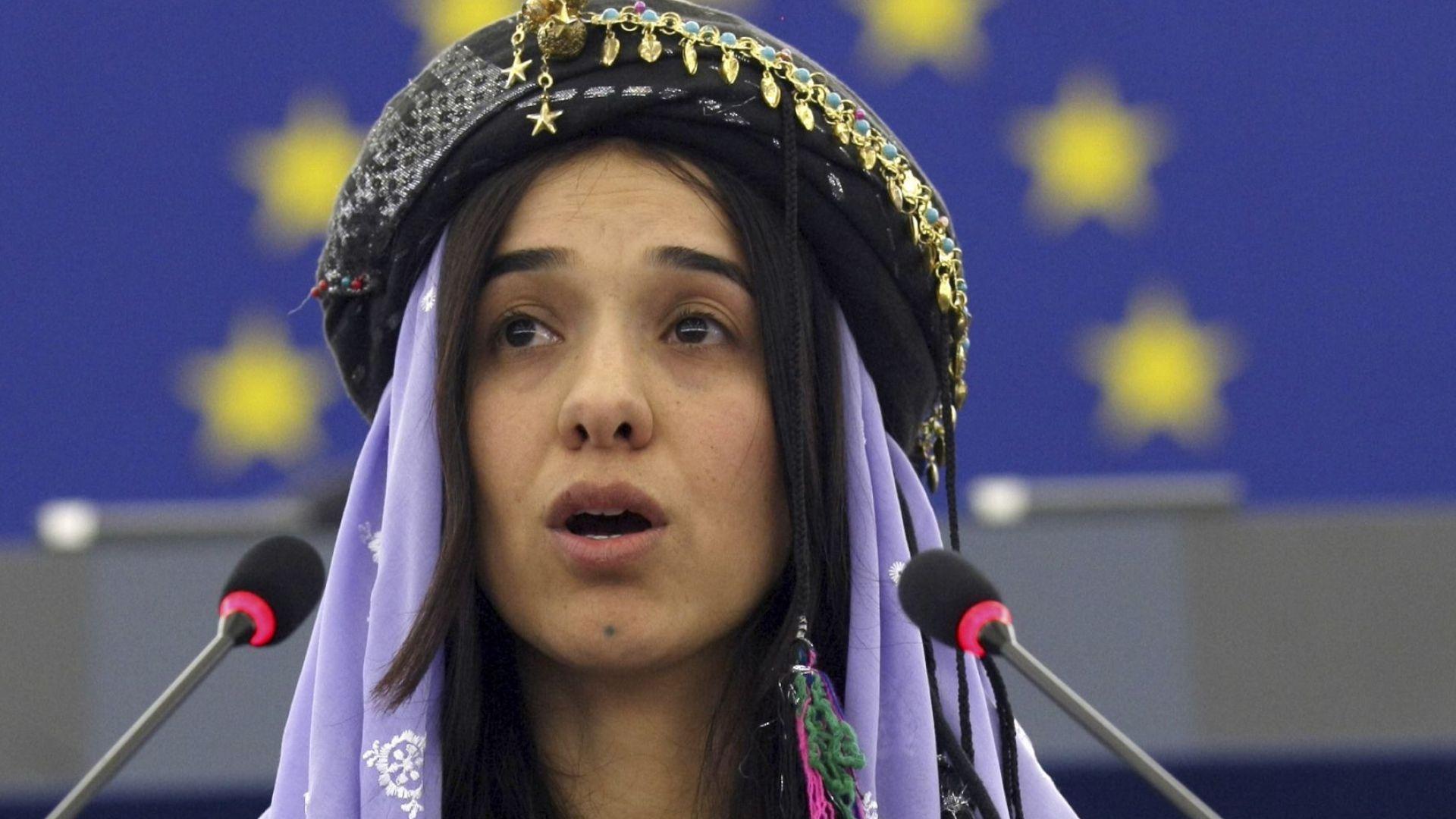 Сексробинята, която спечели Нобел за мир: ИДИЛ искаха да отнемат честта ни, но загубиха своята