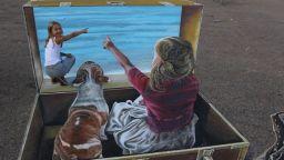 Леон Кир - вълшебникът на уличната живопис