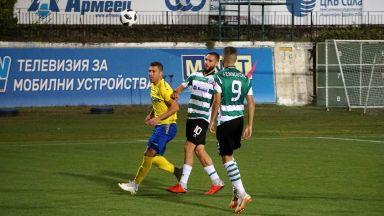 Черно море спря лошата серия срещу слабака на Първа лига