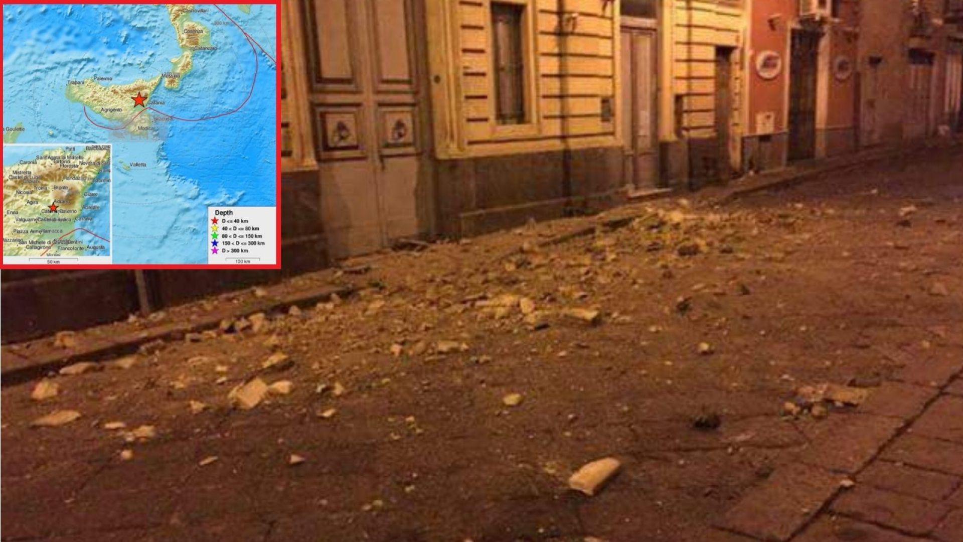 Силно земетресение удари Сицилия