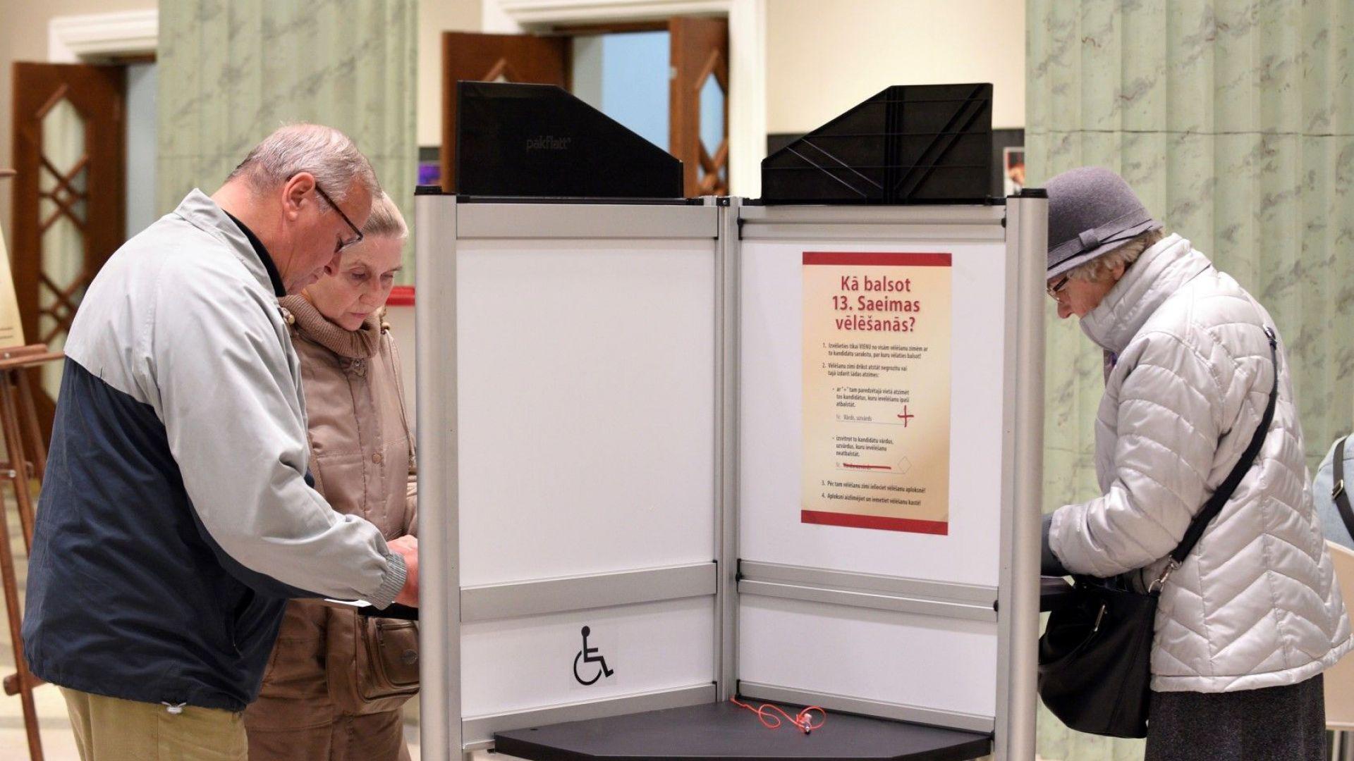 Екзитпол след парламентарните избори в Латвия  затвърждава проевропейските позиции