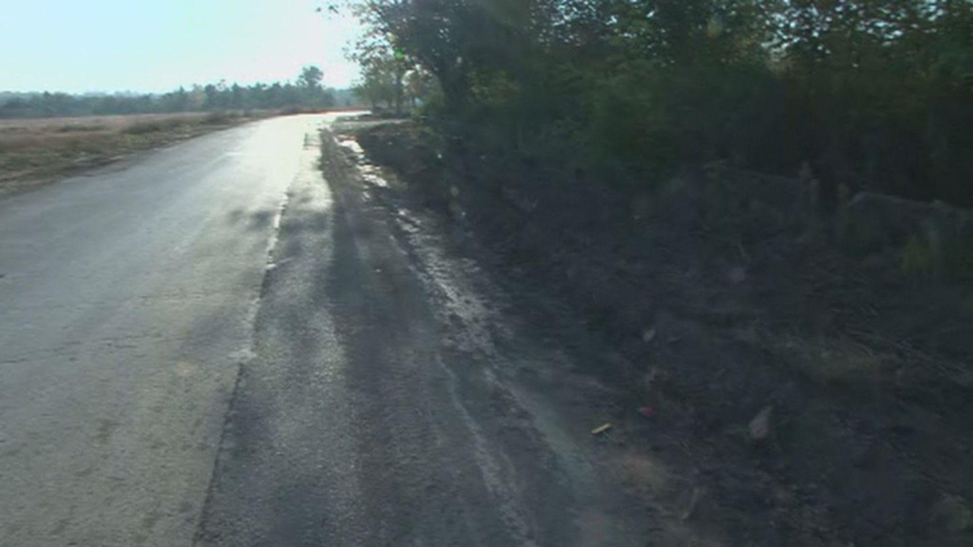 Тежка техника заличила следите от катастрофата в Търнак