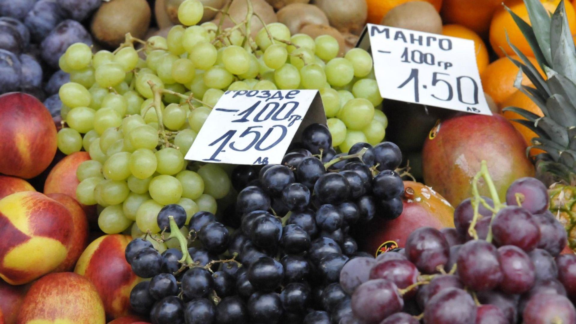 Ядем 89% вносни плодове и зеленчуци