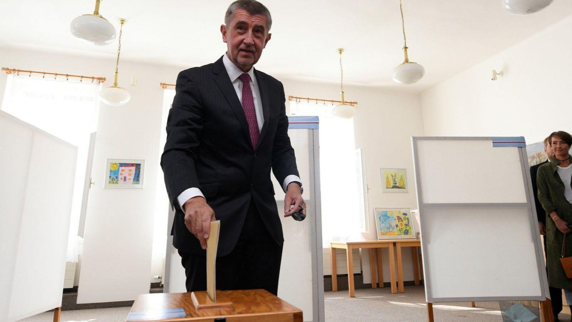 Общинските избори в Чехия: победа с горчив привкус за Андрей Бабиш