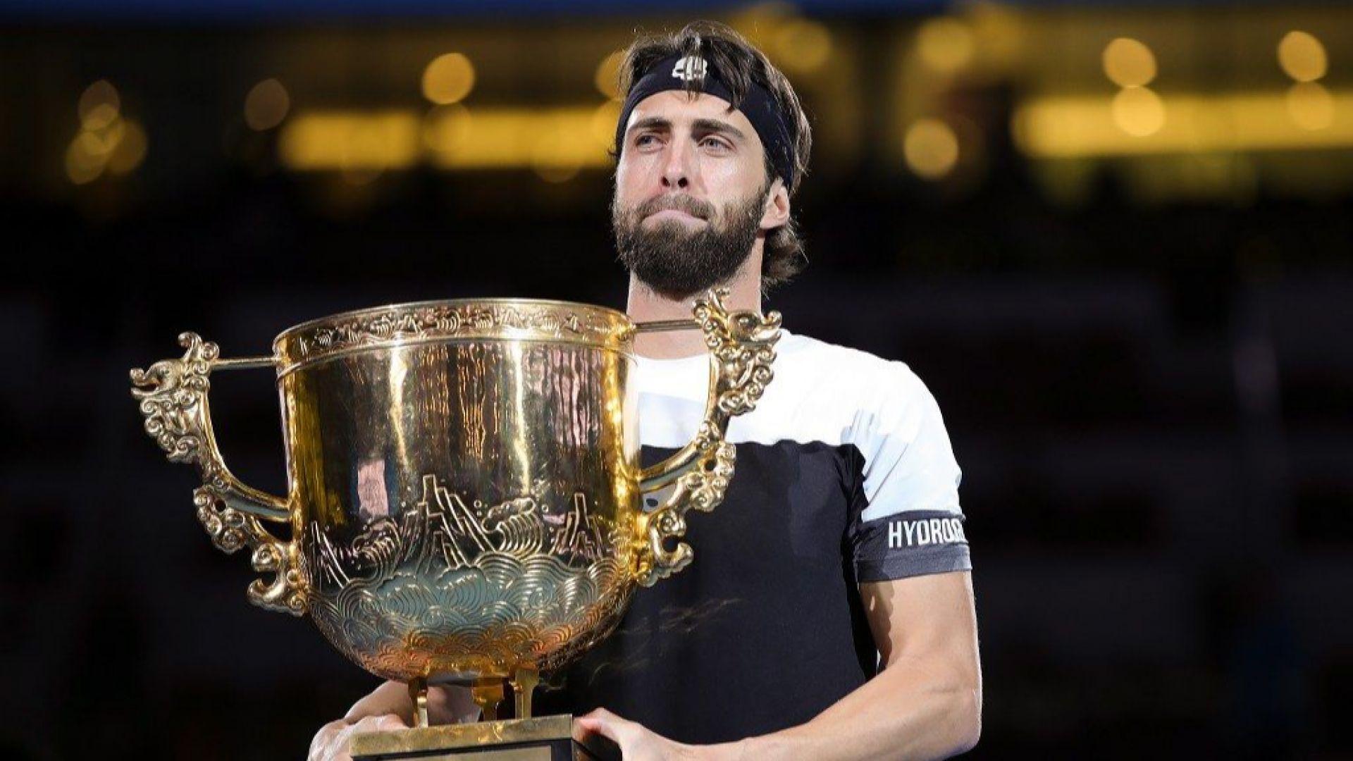 Грузинец подчини Дел Потро на финала в Пекин
