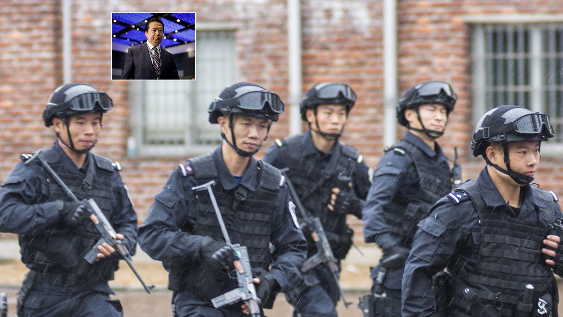 Властите в Китай са арестували шефа на Интерпол