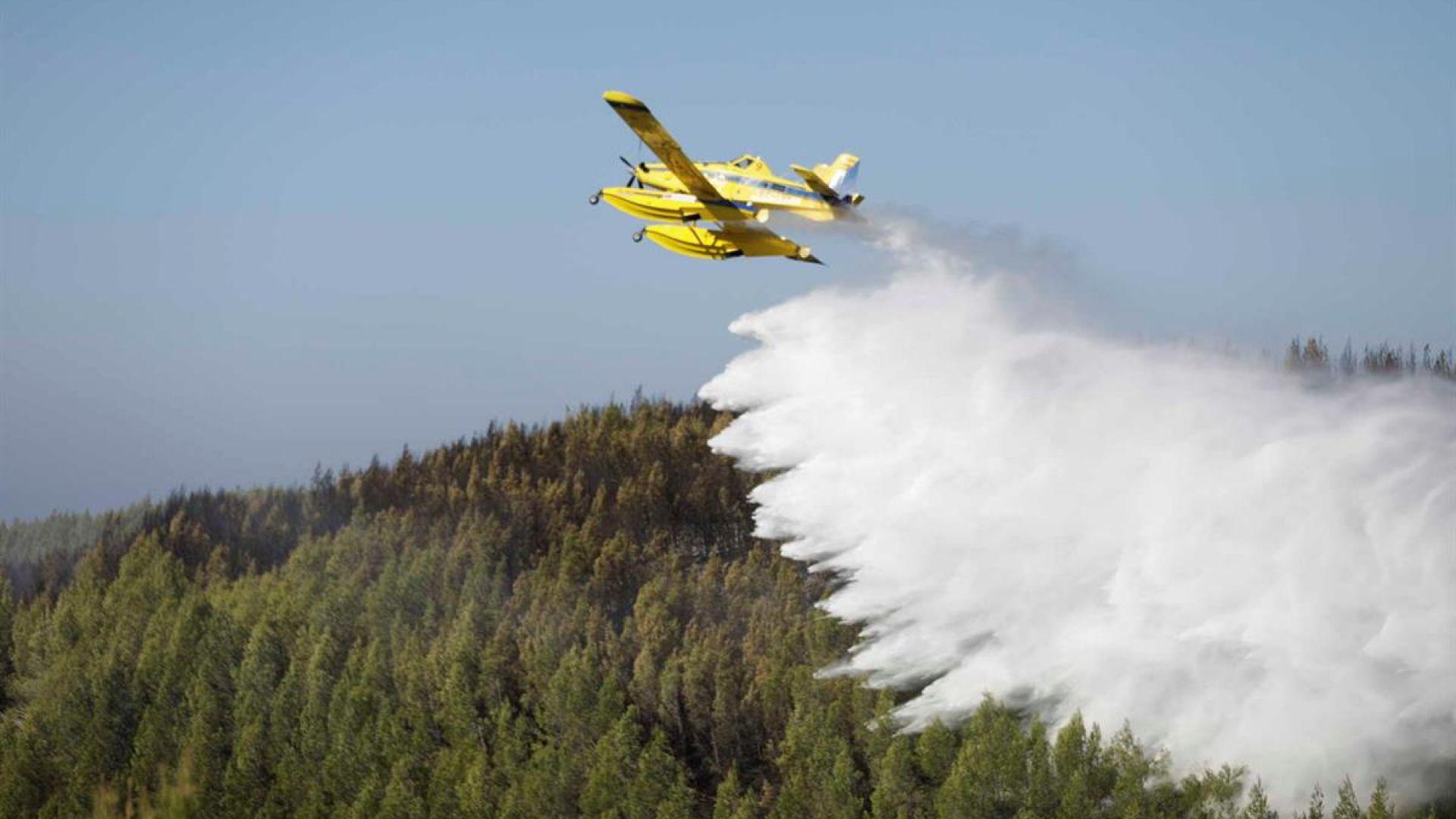 Голям горски пожар бушува край Лисабон (видео)