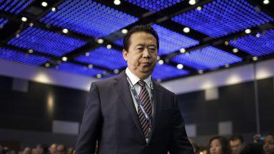 Президентът на Интерпол, който се оказа задържан в Китай, подаде оставка