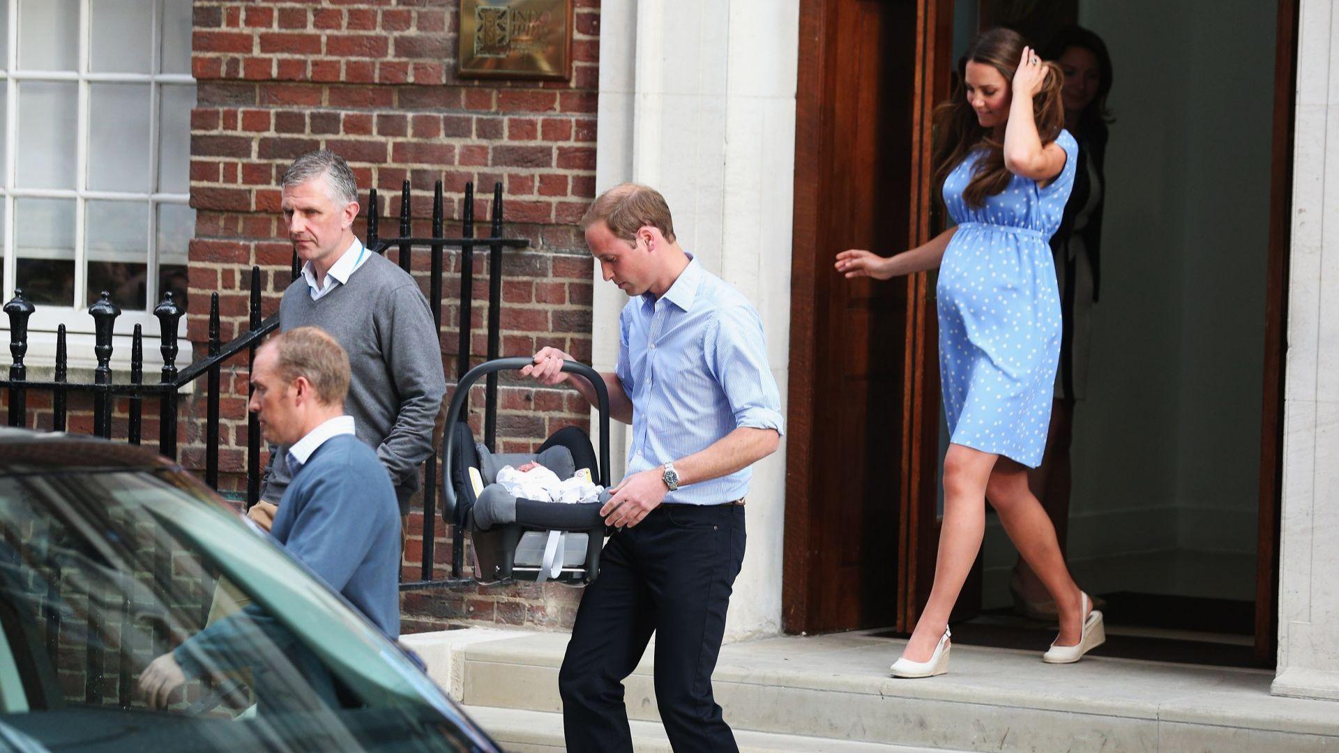 Раждането на принц Джордж