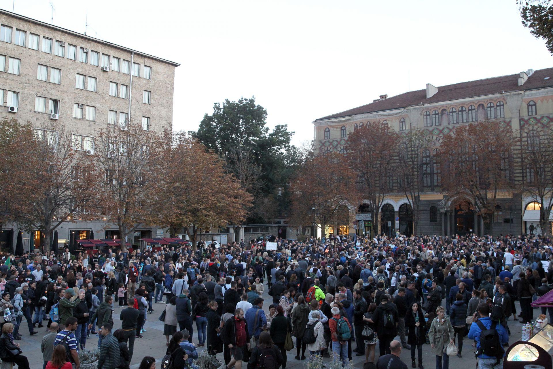 Мълчаливо бдение в София