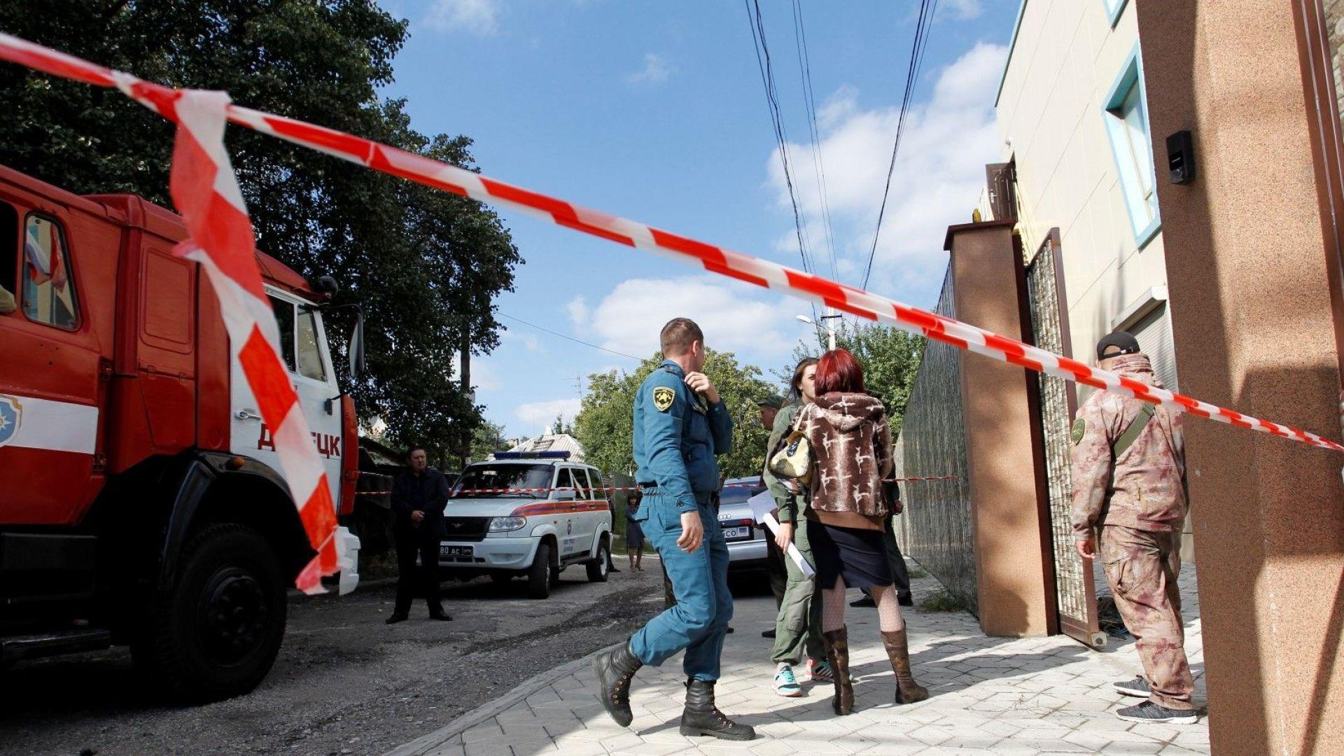 Украинските власти евакуираха 10 000 души след експлозия и пожар в склад за боеприпаси