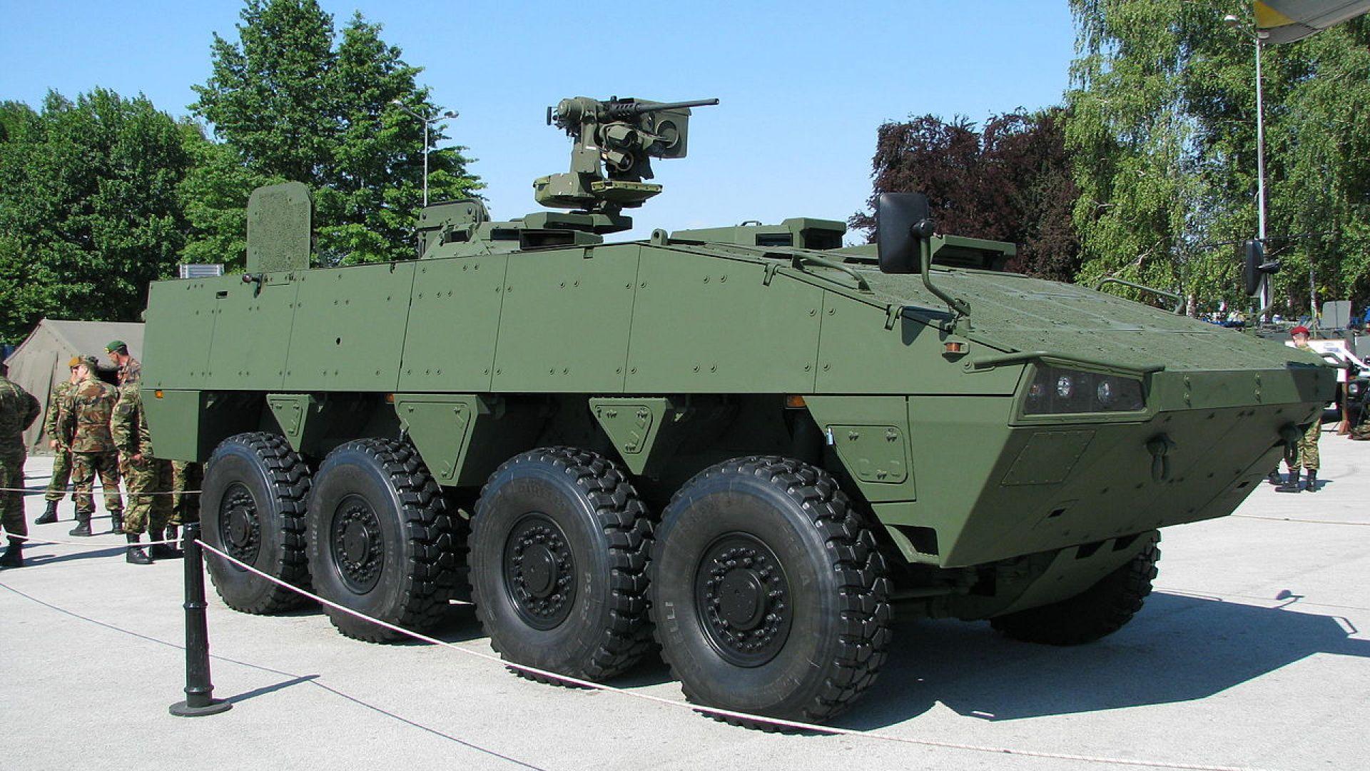 Patria предлага бронирана машина за Българската армия в рамките на одобрения за това бюджет