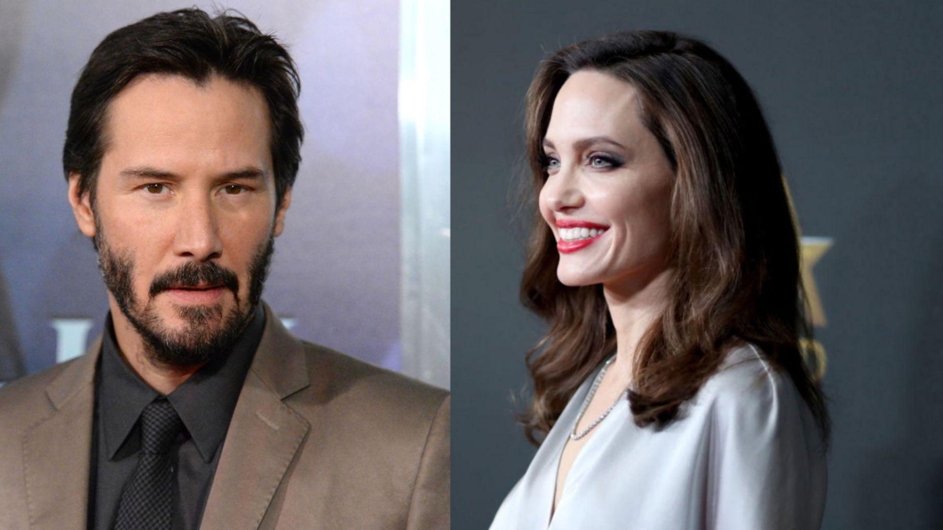 Джоли и Киану Рийвс – новата холивудска двойка
