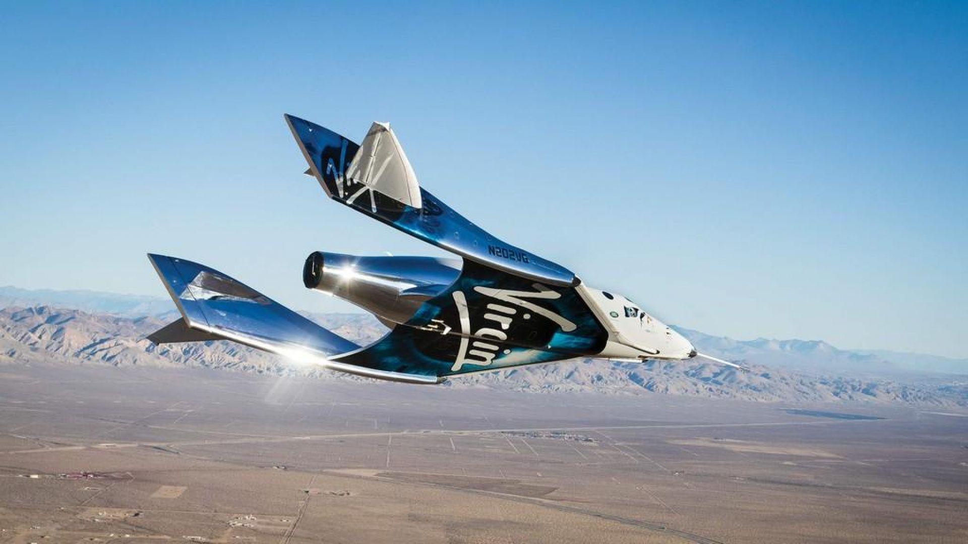 Космическият кораб на милиардера Ричард Брансън скоро ще полети