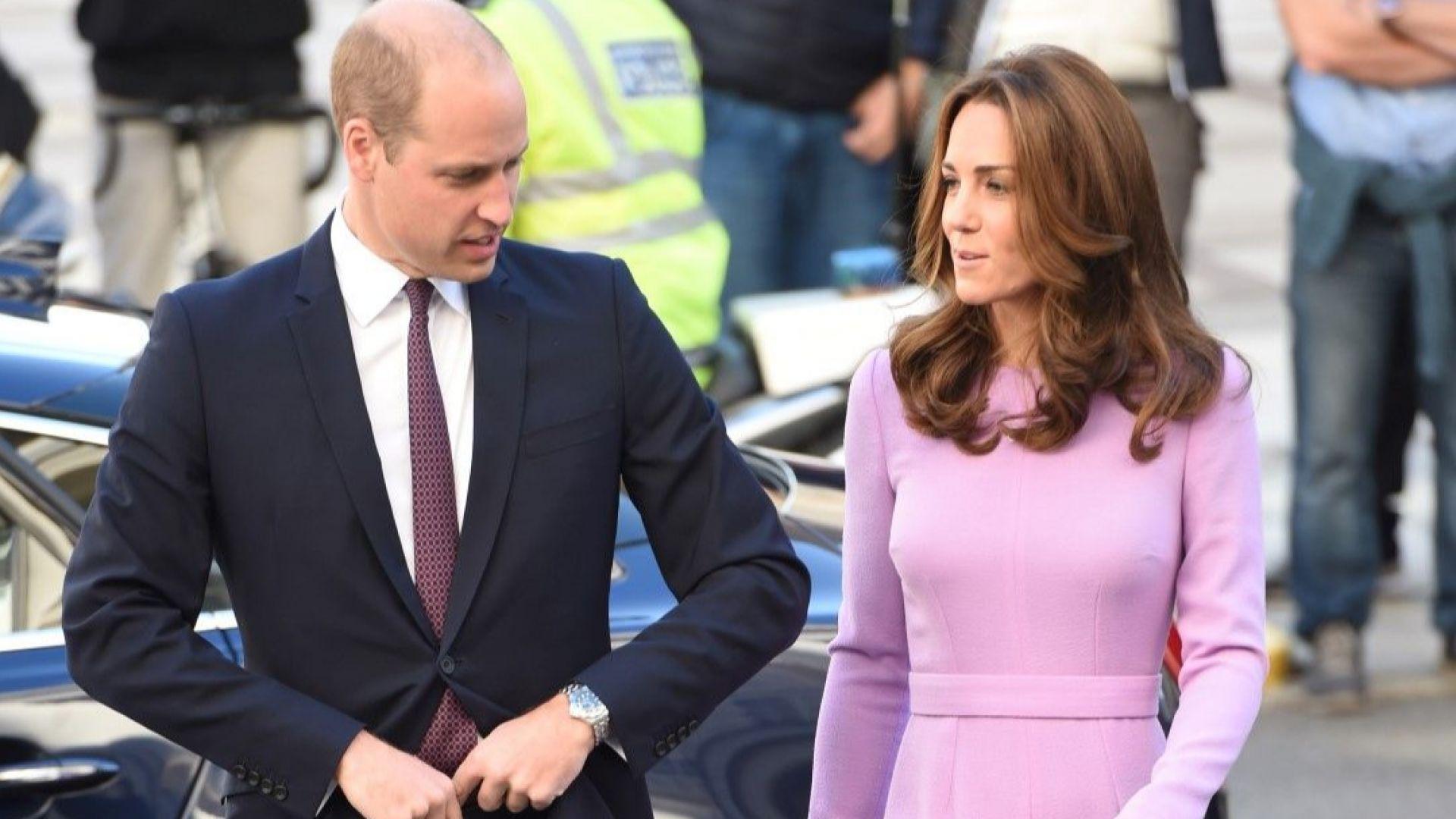 Кейт облече рокля от 2017 за първия си ангажимент с Уилям